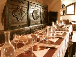 Dining at Maison duBez