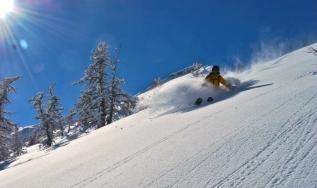 Skiing in SerreChe