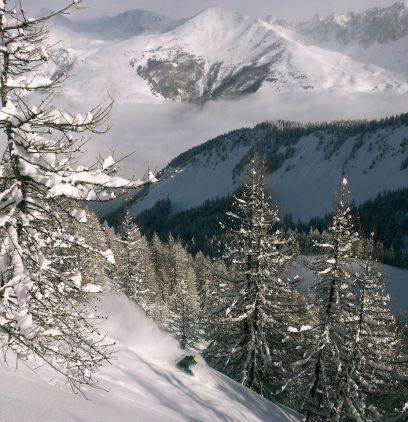 Tomas skiing Serre Che